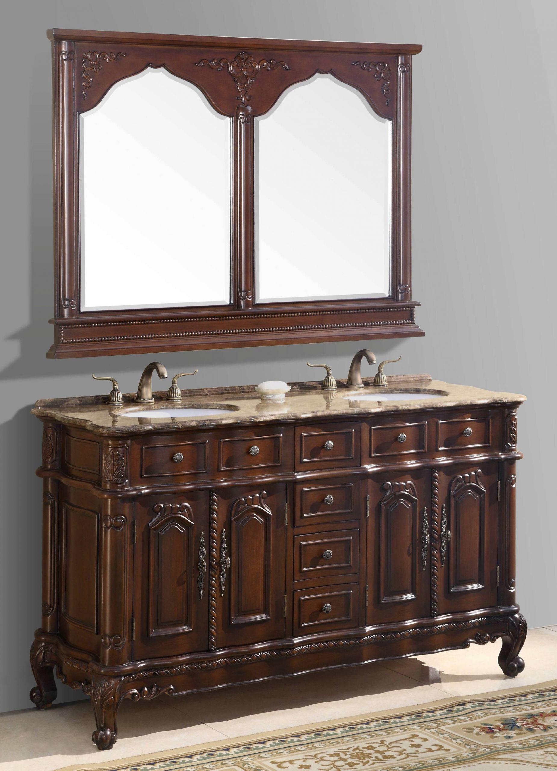 60 Bathroom Vanities  60 69 Inch Vanities Double Bathroom Vanities