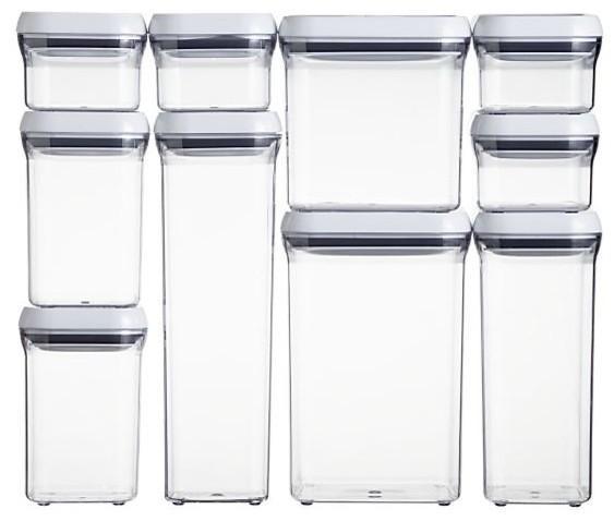 Amazon Kitchen Storage  Amazon OXO Good Grips POP Square 0 3 Quart Storage