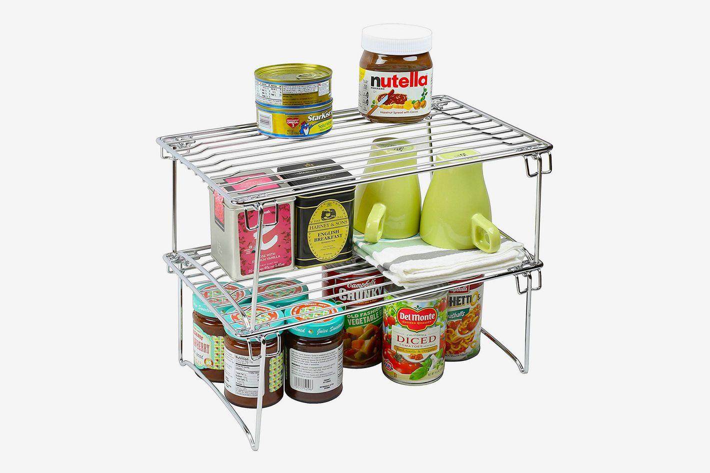 Amazon Kitchen Storage  19 Best Kitchen Cabinet Organizers on Amazon Reviewed 2019
