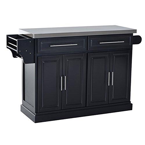 Amazon Kitchen Storage  Amazon HOM Portable Multi Storage Rolling Kitchen