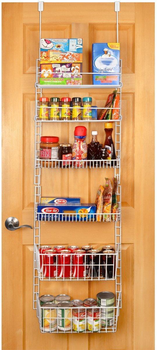 Amazon Kitchen Storage  Amazon PRO MART DAZZ Deluxe Over The Door Adjustable