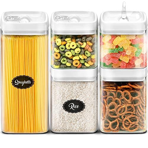 Amazon Kitchen Storage  Plastic Canisters Amazon