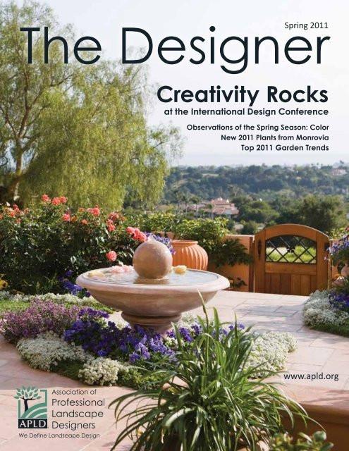 Association Of Professional Landscape Designers  The Designer Association of Professional Landscape Designers