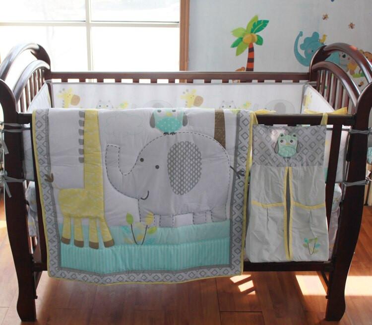 Baby Boy Bedroom Sets  8 Pc Crib Infant Room Kids Baby Bedroom Set Nursery