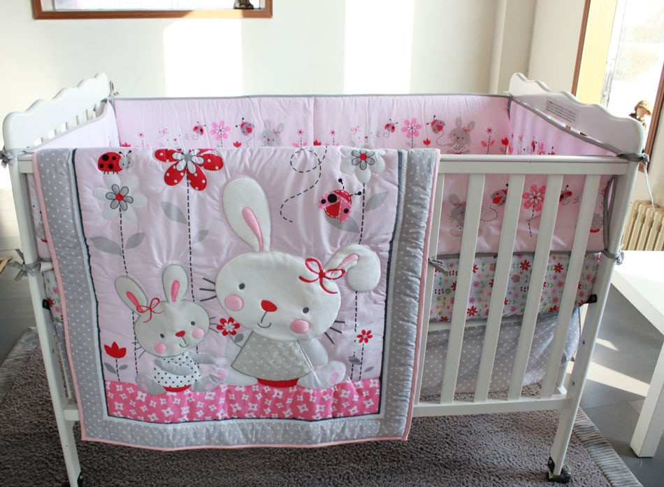 Baby Boy Bedroom Sets  7Pc Crib Infant Room Kids Baby Bedroom Set Nursery Bedding