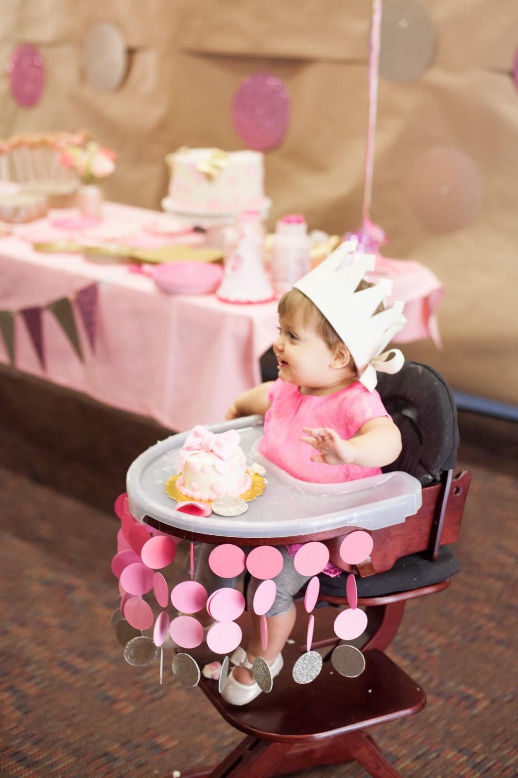 Baby Girl First Birthday Decoration Ideas Elegant Nat Your Average Girl 1st Birthday Party Decor