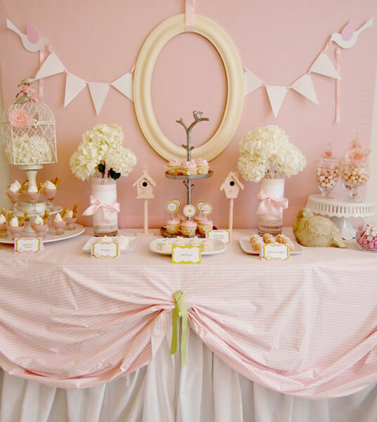 Baby Girl Shower Decorations Ideas  100 Sweet Baby Shower Themes for Girls for 2018