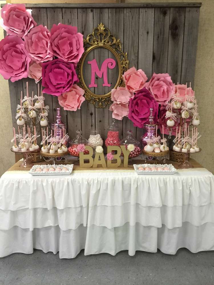 Baby Girl Shower Decorations Ideas  Modern Baby Shower Decorations How to Make Sock Rose