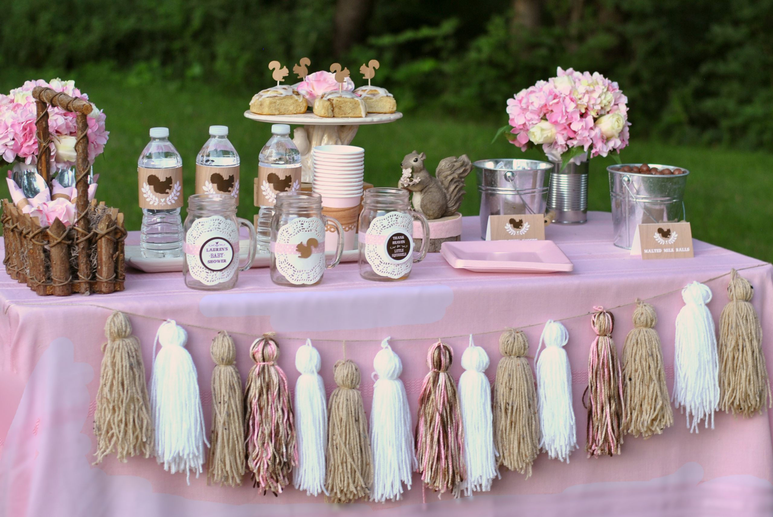 Baby Girl Shower Decorations Ideas  Baby Shower Themes for Girls Inspirations They Don t Have