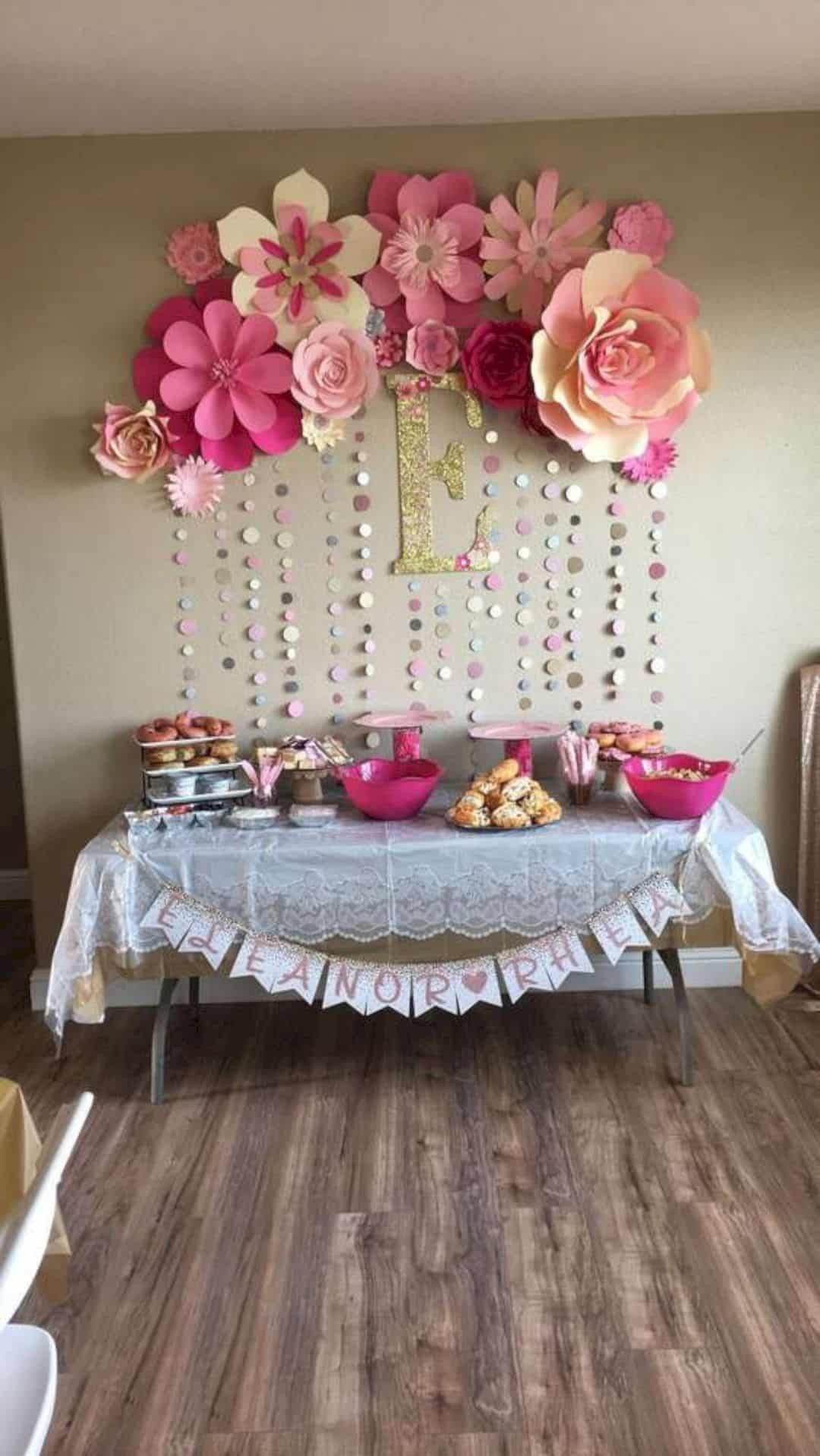 Baby Girl Shower Decorations Ideas  16 Cute Baby Shower Decorating Ideas