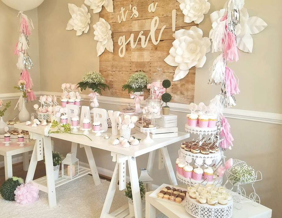 Baby Girl Shower Decorations Ideas  93 Beautiful & Totally Doable Baby Shower Decorations
