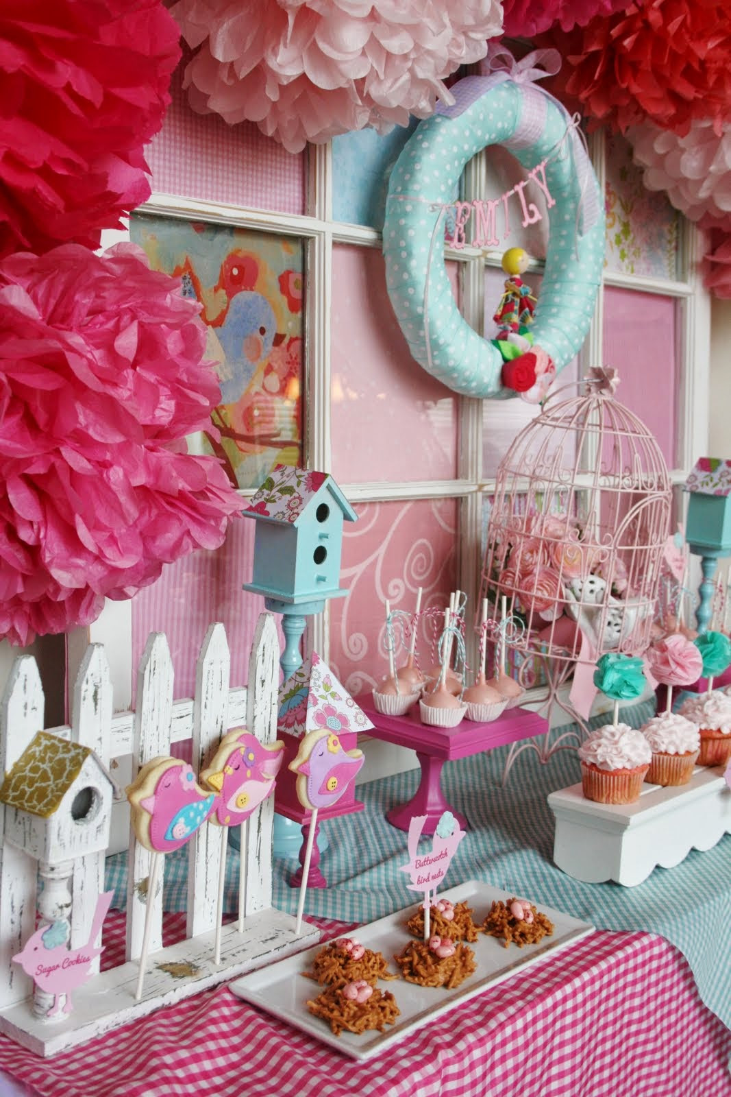 Baby Girl Shower Decorations Ideas  All About Women s Things Baby Shower Decorating Ideas For