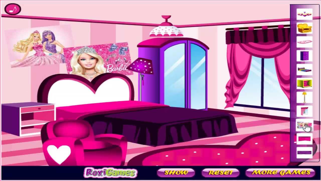 Baby Room Decoration Game  Barbie Fan Room Decoration Girls Game Baby Games