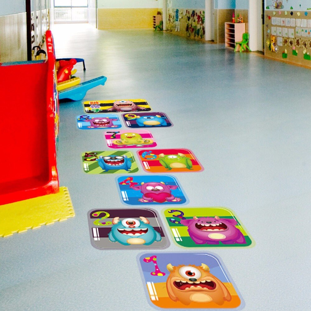 Baby Room Decoration Game  Creative Jump Lattice House Game cartoon Monster Floor