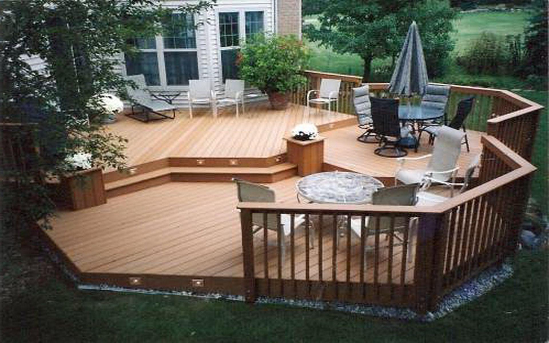 Backyard Deck Plans  11 Genius Ideas How to Makeover Cheap Backyard Deck Ideas