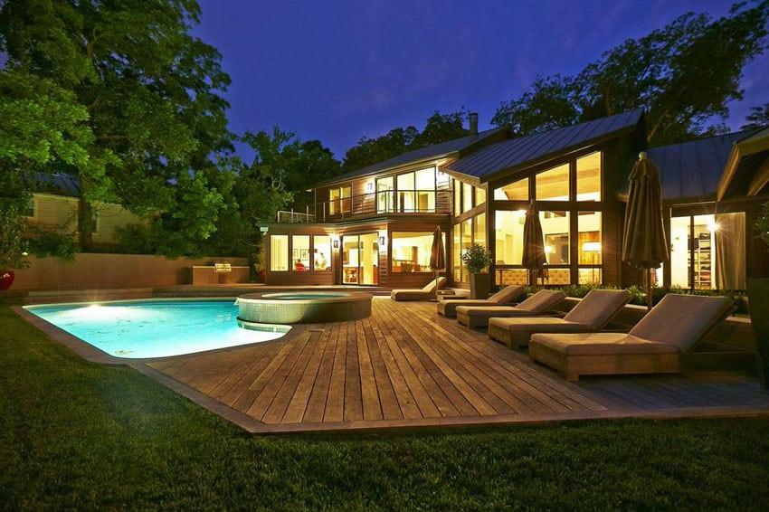 Backyard Deck Plans  49 Backyard Deck Ideas Beautiful of Designs