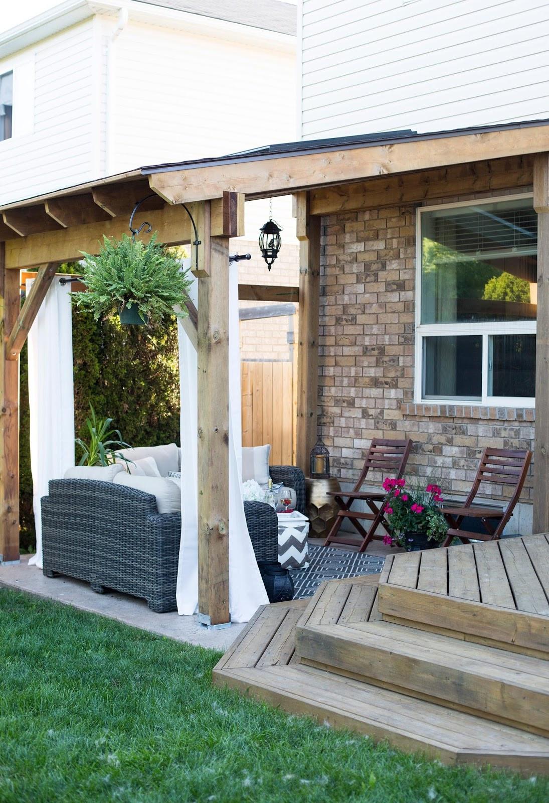 Backyard Deck Plans  24 Cozy Backyard Patio ideas Live DIY Ideas