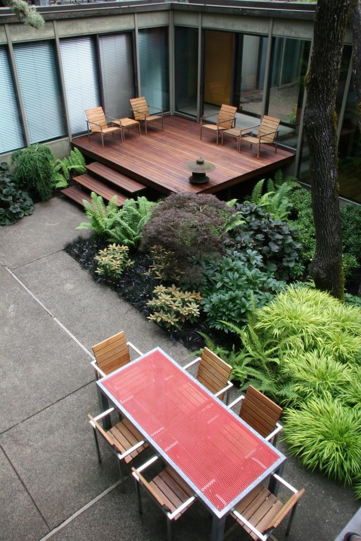 Backyard Deck Plans  35 Cool Outdoor Deck Designs