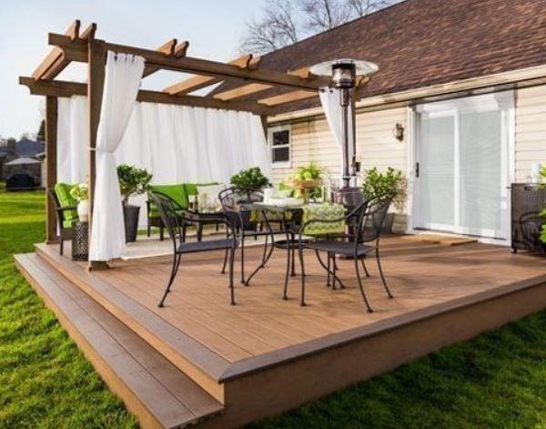 Backyard Deck Plans  Backyard Deck Ideas 28 DIY Designs for Affordable Home