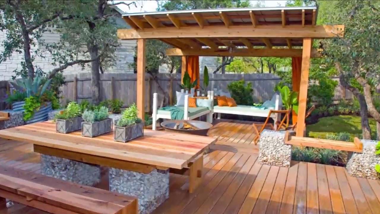 Backyard Deck Plans  [Modern Backyard] Patio And Deck Ideas For Backyard [Small