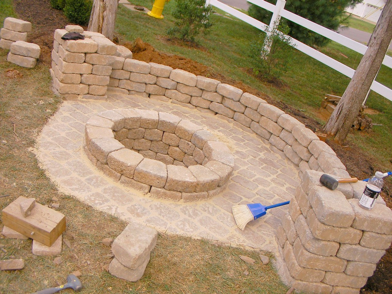 Backyard Fire Pit Ideas Diy  Creatively Luxurious DIY Fire Pit Project Here to Enhance