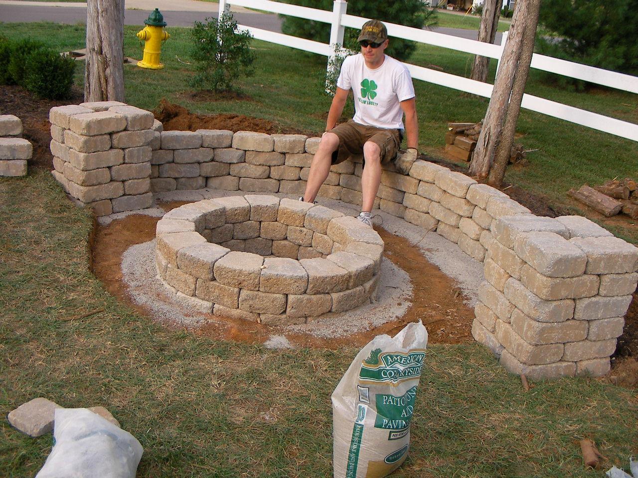 Backyard Fire Pit Ideas Diy  DIY Backyard Fire Pit