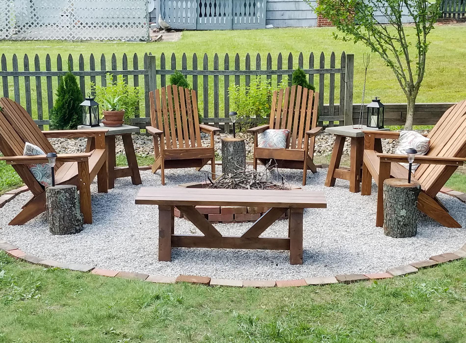 Backyard Fire Pit Ideas Diy  DIY Fire Pit Backyard Bud Decor Prodigal Pieces