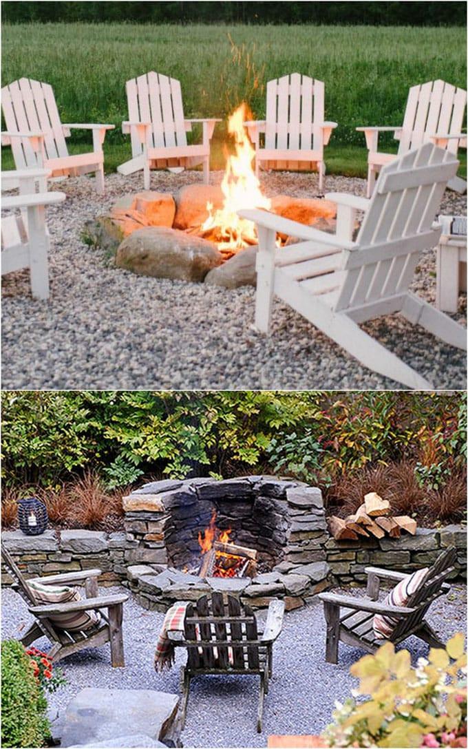 Backyard Fire Pit Ideas Diy  24 Best Outdoor Fire Pit Ideas to DIY or Buy A Piece