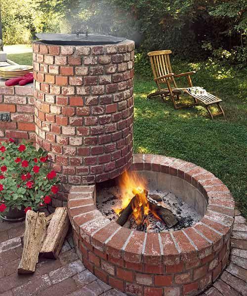 Backyard Fire Pit Ideas Diy  35 Smart DIY Fire Pit Projects Backyard Landscaping Design