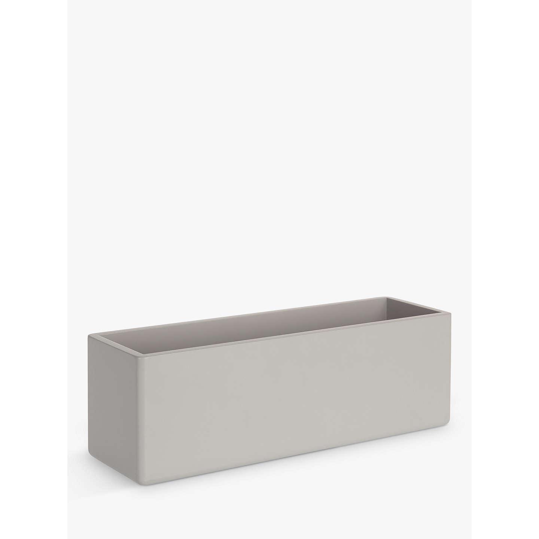 Bathroom Storage Boxes  House by John Lewis Bathroom Storage Box Blue Grey at