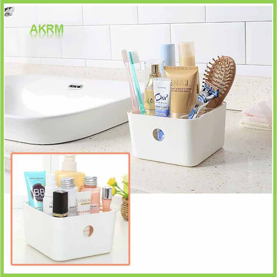 Bathroom Storage Boxes  In Stock Plastic Storage Box Jewelry Makeup Organizer