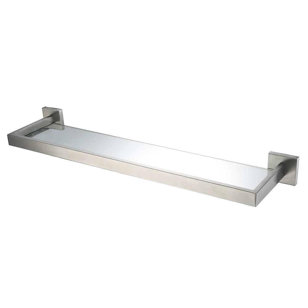 Bathroom Wall Shelves Brushed Nickel Beautiful Auswind Modern Stainless Steel Silver Brushed Nickel