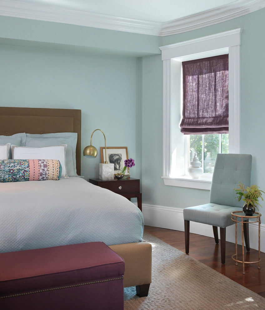 Bedroom With Blue Walls  21 Bedroom Wall Colours Decorating Ideas