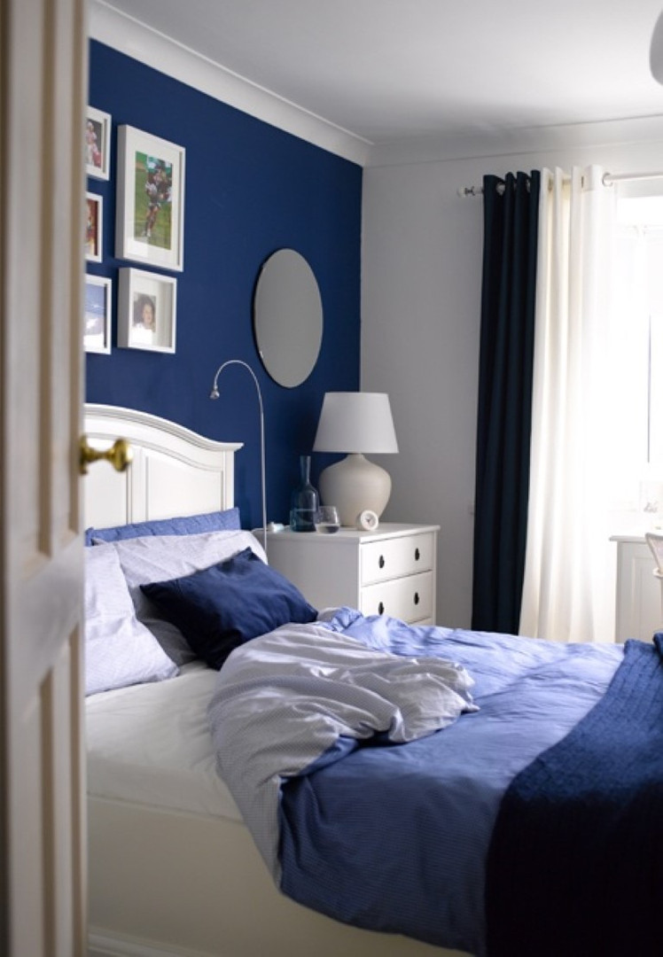Bedroom With Blue Walls  23 Classy Blue And Turquoise Accents Bedroom Designs