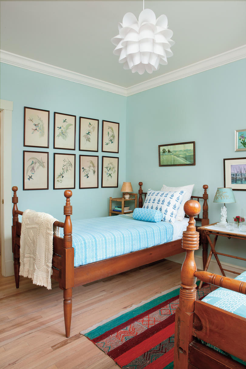 Bedroom With Blue Walls  Beautiful Blue Bedrooms Southern Living