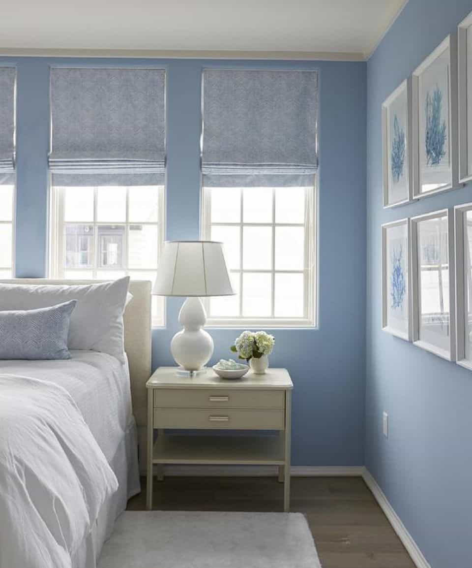 Bedroom With Blue Walls  How to Properly Decorate With Shades of Blue