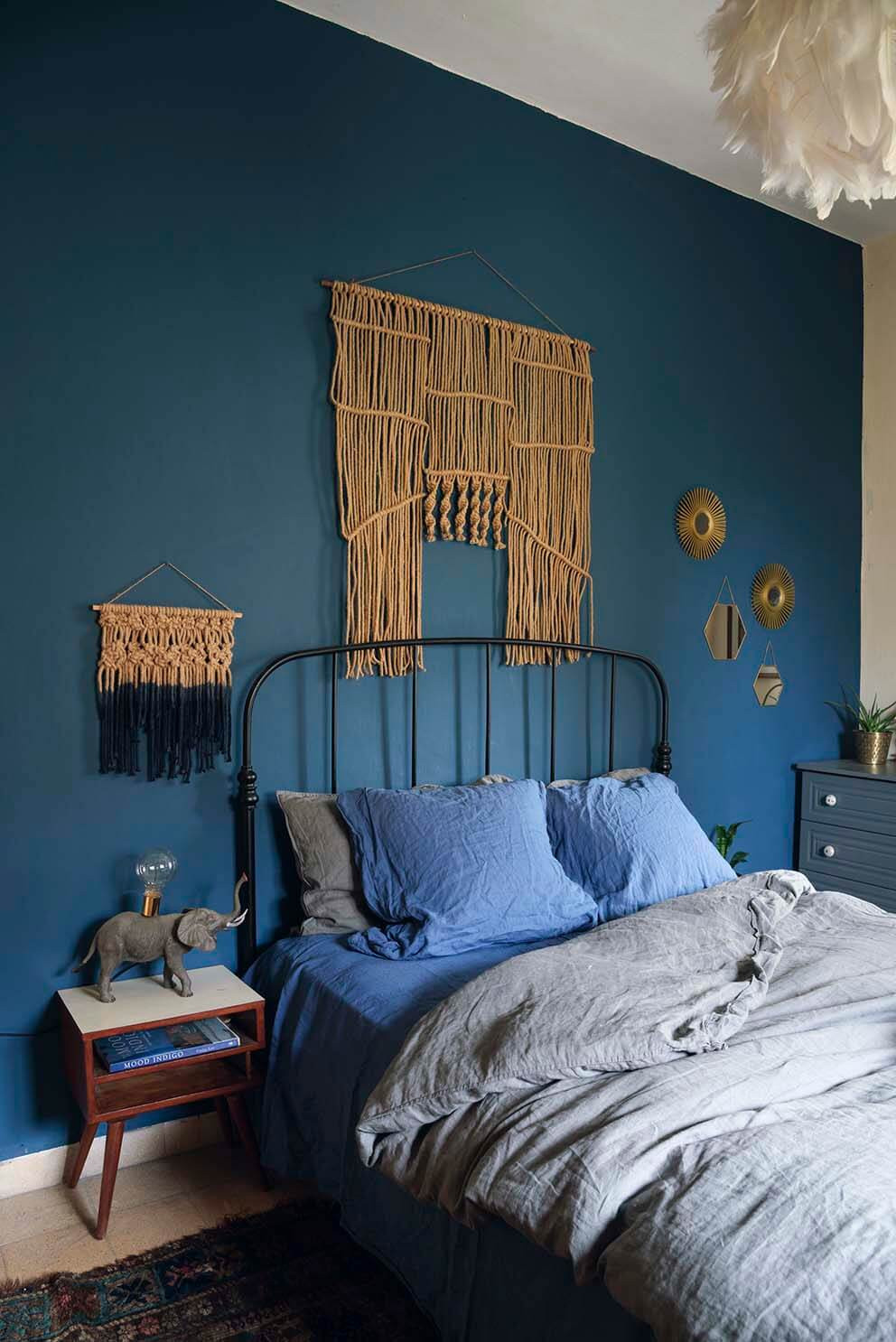 Bedroom With Blue Walls  This Is How To Decorate With Blue Walls