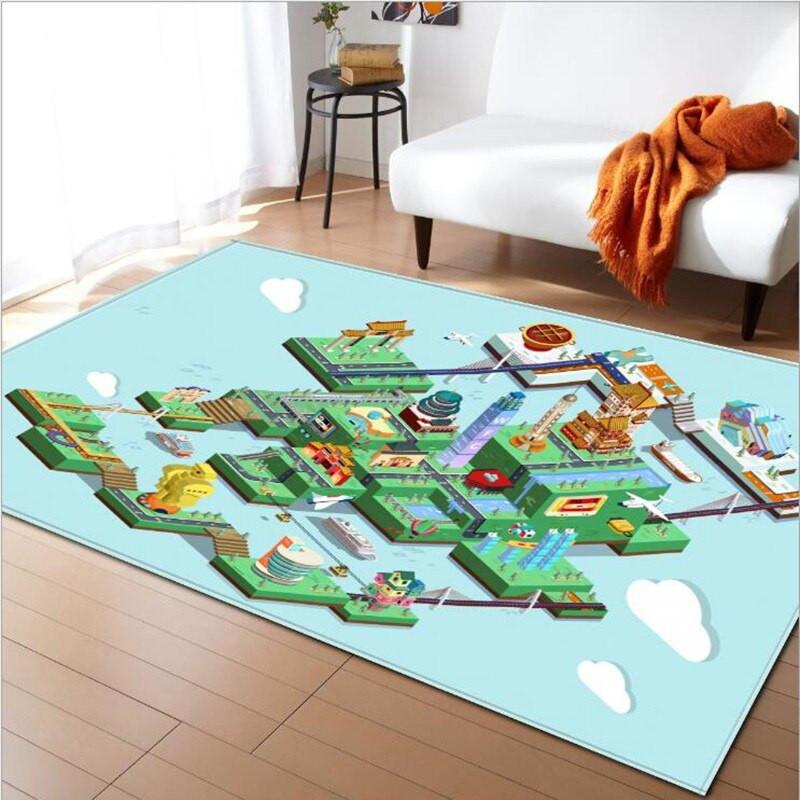 Best Carpet For Kids Room  City Road Game Crawl Mat carpets for living room rug Kids