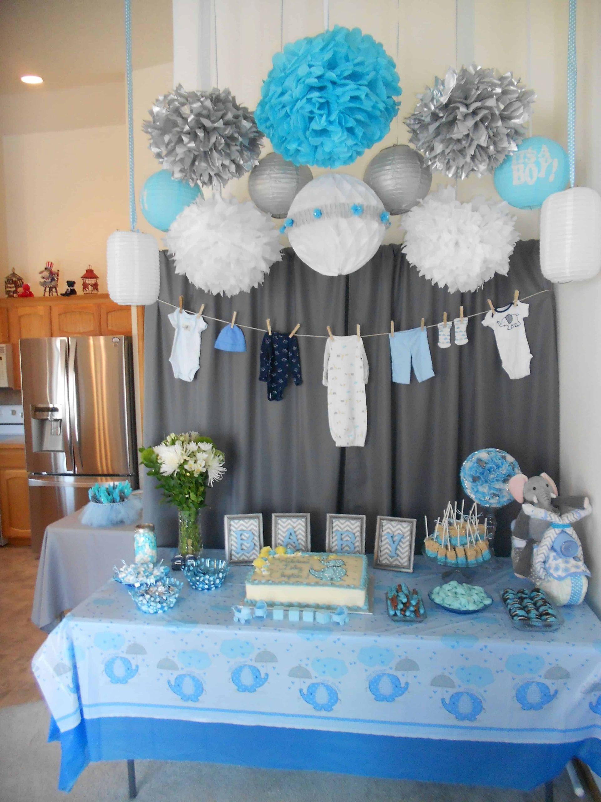 Boy Baby Shower Decor Unique 17 Unique Baby Shower Ideas for Boys