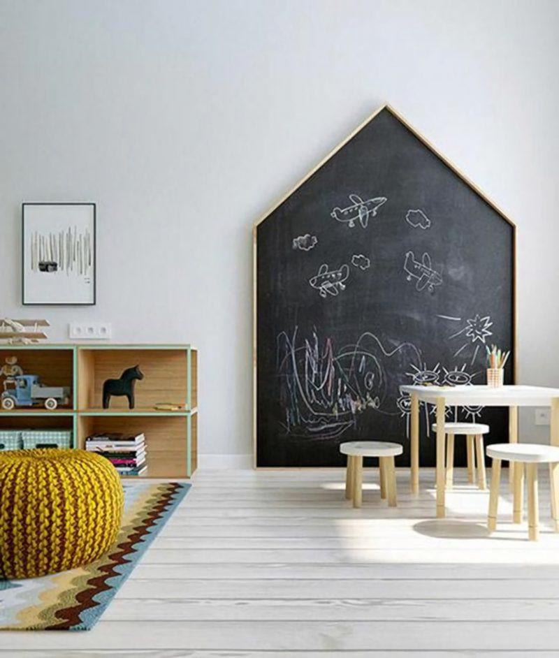 Chalkboard for Kids Room Inspirational Fun Ways to Create A Chalkboard Wall In A Kids Room