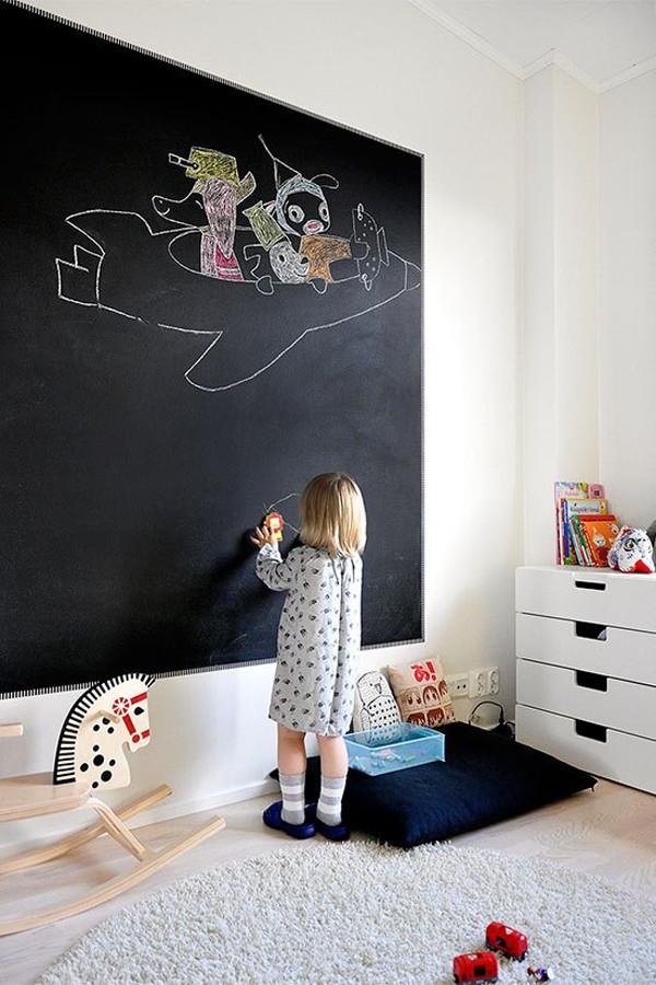 Chalkboard For Kids Room  20 Awesome Kids chalkboard Ideas