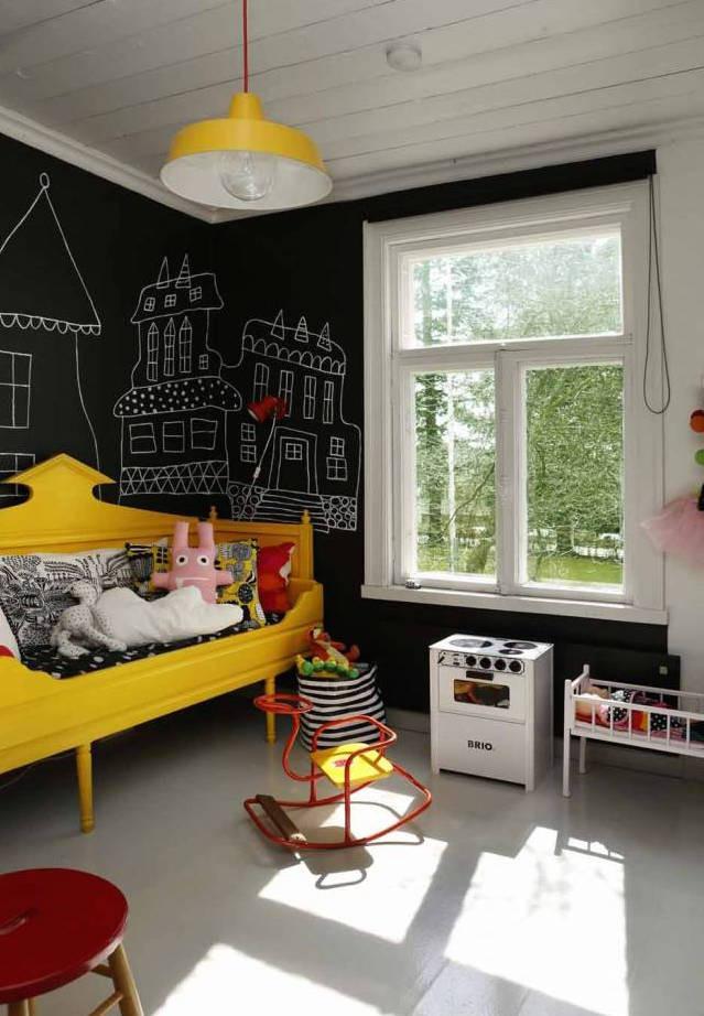 Chalkboard For Kids Room  blackboard walls and chalkboards for kids