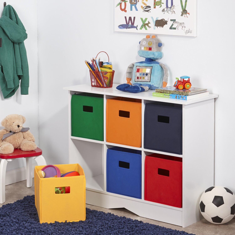 Childrens Storage Cabinet  RiverRidge Kids RiverRidge Kids 6 partment Storage
