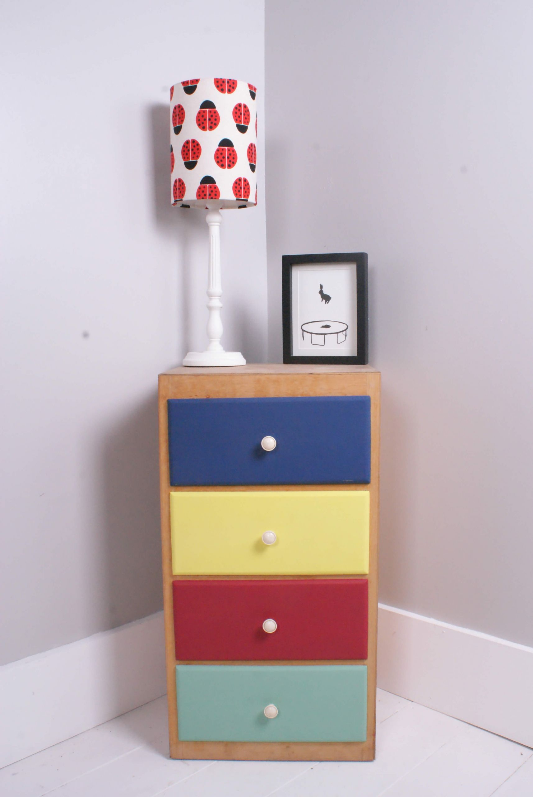 Childrens Storage Cabinet  Children s Storage Cabinet with Colourful Drawers