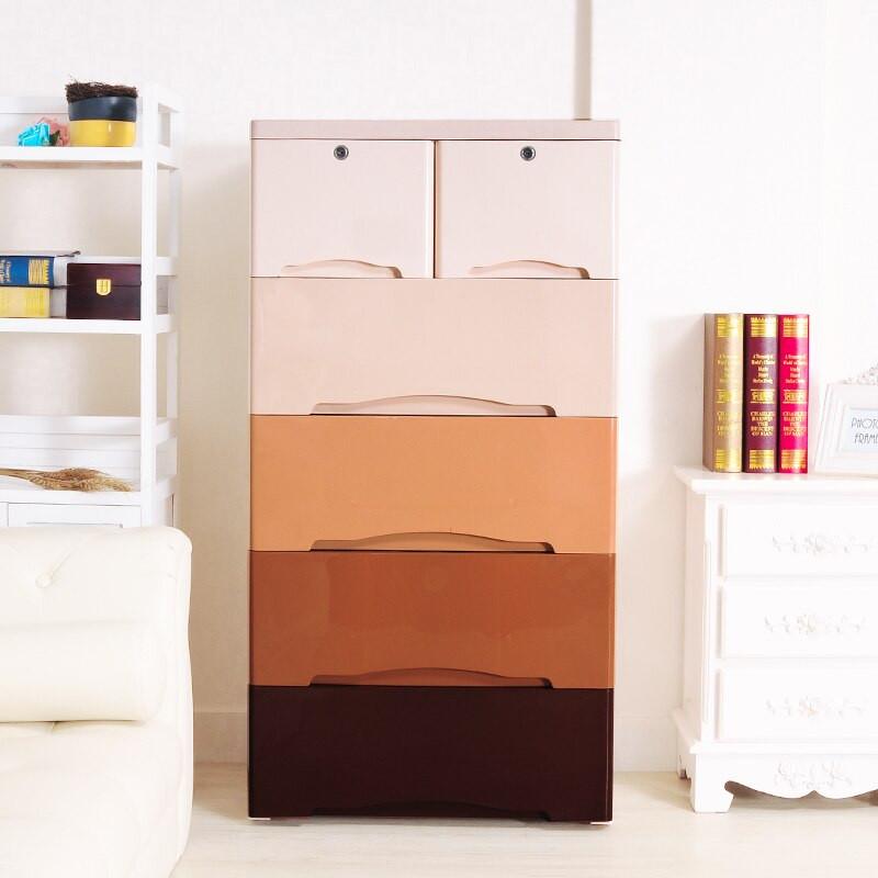 Childrens Storage Cabinet  Children s wardrobe pumping plastic IKEA cabinets drawers