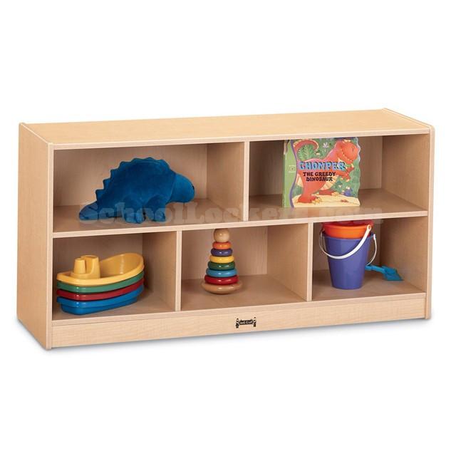 Childrens Storage Cabinet  Kids Toddler Single Mobile Storage Cabinet