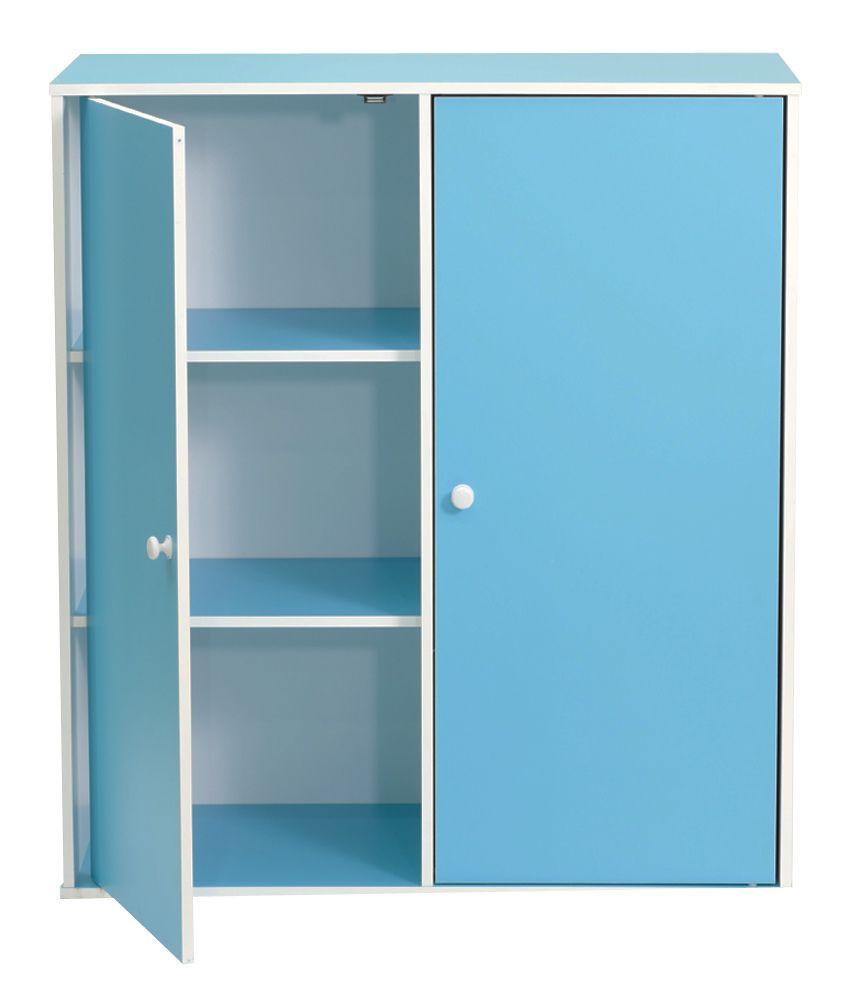 Childrens Storage Cabinet  Furn Aspire Children Cabinet Blue Buy Furn Aspire