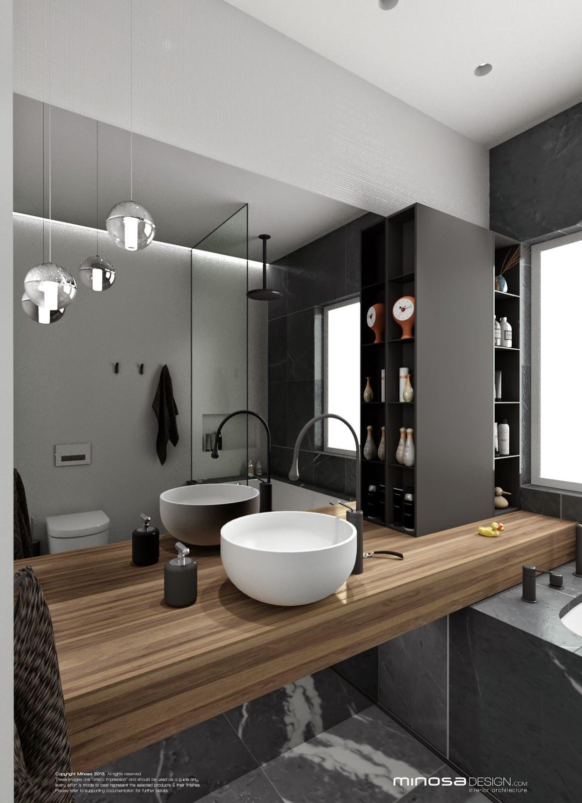 Compact Bathroom Design  Minosa Bathroom Design Small space feels large