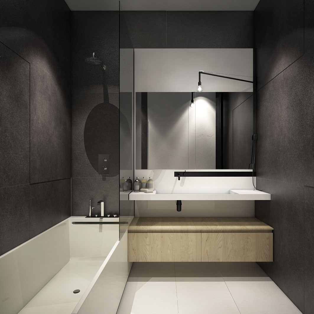 Compact Bathroom Design  The Best Tips How To Arranged Modern Small Bathroom