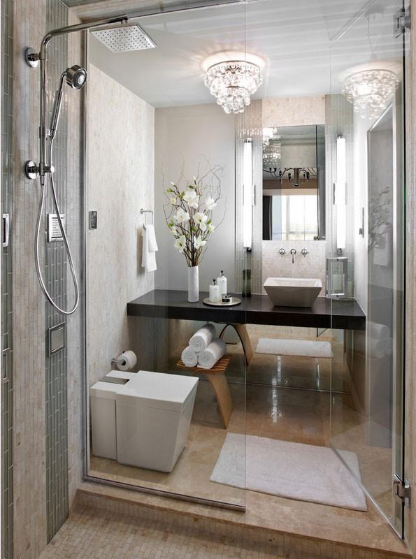 Compact Bathroom Design  Ultra Modern Bathroom Decor Ideas